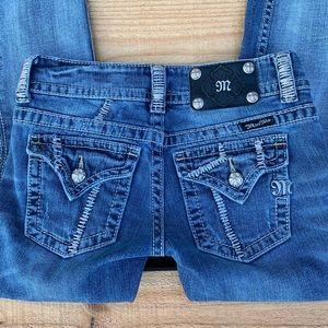 Ladies Miss Me Jeans Waist Size 25